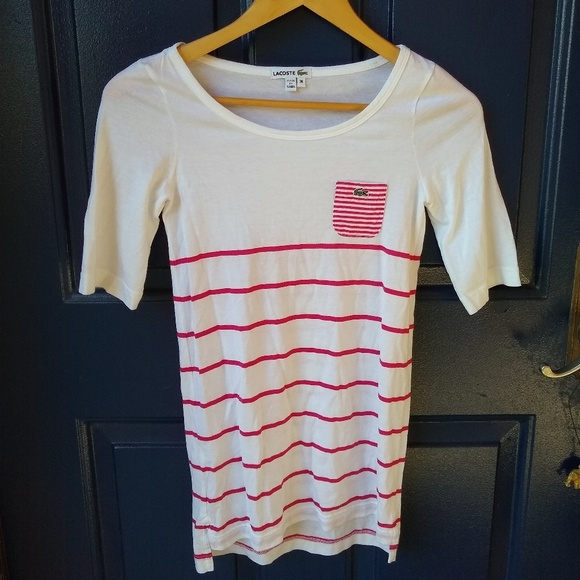 Lacoste Tops - Lacoste   striped tee